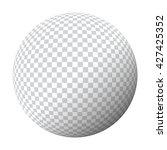 chequered ball | Shutterstock . vector #427425352