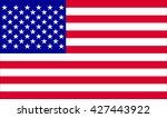 usa flag.vector illustration   Shutterstock .eps vector #427443922