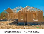 new home construction.  real... | Shutterstock . vector #427455352