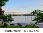 Panorama View At Inner Alster...