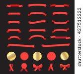 Ribbon. Ribbon And Labels Icon...