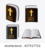 bible design. book icon. flat