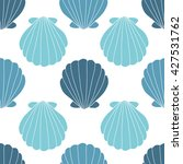 Seashells Seamless Pattern...