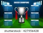 soccer champions final... | Shutterstock .eps vector #427556428