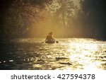 People Floating On The River In ...