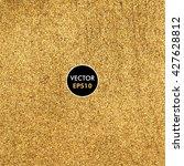 gold vector background. | Shutterstock .eps vector #427628812