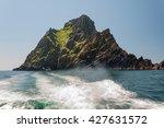 skellig michael  unesco world... | Shutterstock . vector #427631572