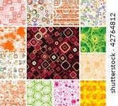 seamless wallpapers. | Shutterstock .eps vector #42764812