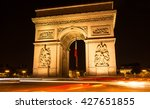 the triumphal arch is one of... | Shutterstock . vector #427651855
