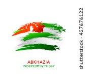 vector illustration of abkhazia ... | Shutterstock .eps vector #427676122