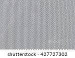White metal plate with dots - stock photo