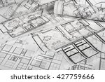 architectural project | Shutterstock . vector #427759666