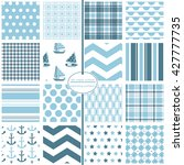 repeating patterns for digital... | Shutterstock .eps vector #427777735