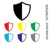 shield icon set