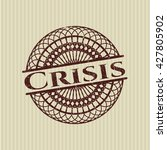 crisis rubber texture | Shutterstock .eps vector #427805902