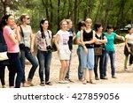 petropavlovsk  kazakhstan   may ... | Shutterstock . vector #427859056