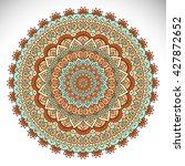 mandala  vector mandala  floral ... | Shutterstock .eps vector #427872652