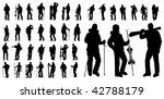 vector shape sport silhouette...