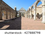 view to the yard of convento de ... | Shutterstock . vector #427888798