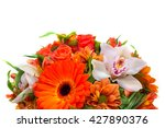 Flower Arrangement Orange  ...