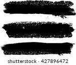 black dry ink stroke. grunge...   Shutterstock .eps vector #427896472