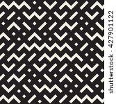 vector seamless black and white ... | Shutterstock .eps vector #427901122