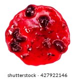 isolated photo of cherry jam... | Shutterstock . vector #427922146