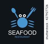seafood shop logo vector set of ...   Shutterstock .eps vector #427927726