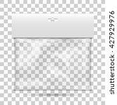 blank plastic pocket bag ... | Shutterstock .eps vector #427929976