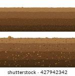 underground layers of earth ... | Shutterstock .eps vector #427942342
