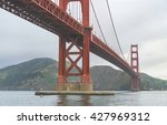 Scenic View Of Golden Gate In...