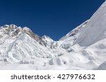 Beautiful Snowdrift And Ice...