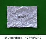 write on paper | Shutterstock . vector #427984342