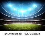 stadium 3d | Shutterstock . vector #427988035