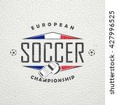 football championship of france.... | Shutterstock .eps vector #427996525