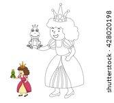 illustration of educational... | Shutterstock .eps vector #428020198