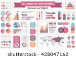 infographics elements and...   Shutterstock .eps vector #428047162