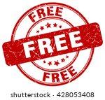 free. stamp | Shutterstock .eps vector #428053408