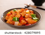 chinese cuisine sweet and sour... | Shutterstock . vector #428079895