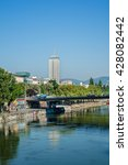 vienna  austria   may 9  2016 ... | Shutterstock . vector #428082442