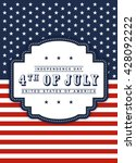 4th of july independence day... | Shutterstock .eps vector #428092222