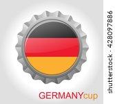 germany flag cap   Shutterstock .eps vector #428097886