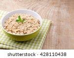 oatmeal porridge with... | Shutterstock . vector #428110438