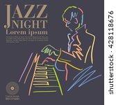 jazz | Shutterstock .eps vector #428118676