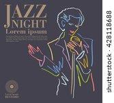 jazz | Shutterstock .eps vector #428118688