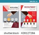 hiring. recruitment.  hand pick ... | Shutterstock .eps vector #428127286