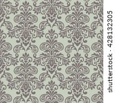 seamless floral pattern for... | Shutterstock .eps vector #428132305