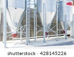 silos for the storage of flour...