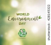 world environment day june 5... | Shutterstock . vector #428145322