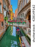 venice. city landscape.   | Shutterstock . vector #428149162